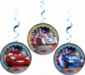 3 Espirais Decorativas Cars Neon