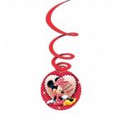 3 Espirais Decorativas Minnie - Darling cutouts