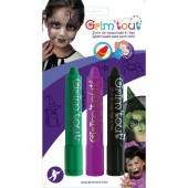 3 Lápis de Maquilhagem Bruxas