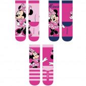 3 Meias Minnie Disney