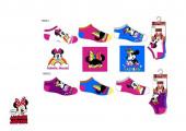 3 Meias Soquetes Minnie Disney Sortido