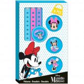 3 Pulseiras Minnie Disney