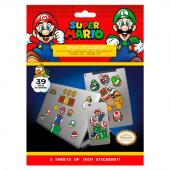 39 Autocolantes Super Mario em vinil