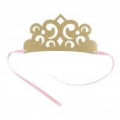 4 Coroas de papel Princesas