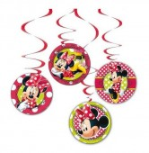 4 Espirais Decorativas Minnie