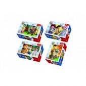 4 Mini Puzzles Toy Story 54 peças