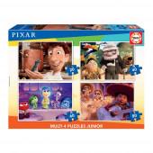 4 Multi Puzzles Pixar
