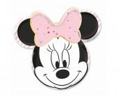 4 Pratos Minnie Party Gem