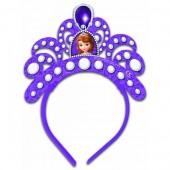 4 Tiaras festa Princesa Sofia Disney
