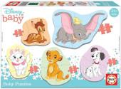 5 Baby Puzzles Animais Disney 2
