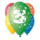 5 Balões latex nº3 - 30 cm