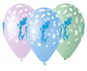 5 Balões Latex Sereia