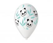 5 Balões Panda Bambu 13