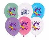 5 Balões Unicórnio 12