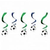 5 Espirais Decorativas Futebol