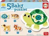 5 Puzzles Progressivos Bebé