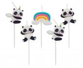 5 Velas Panda