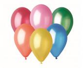 50 Balões Metalizados Sortidos 13