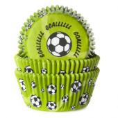 50 Cápsulas Cupcake Futebol