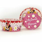 50 cápsulas papel Cupcake Minnie