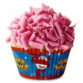 50 formas cupcake SuperWings