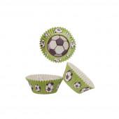 50 Formas Papel Cupcake Futebol