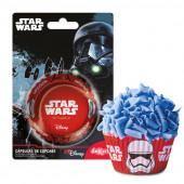 50 Formas Papel Cupcake Star Wars