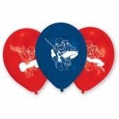6 Balões festa Spiderman sortido