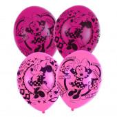 6 Balões Latex Minnie