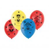 6 Balões Látex Patrulha Pata