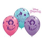 6 Balões Latex Princesa Jasmine Disney