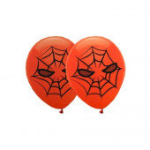 6 Balões Latex Spiderman