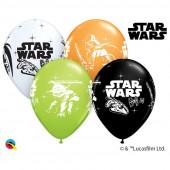 6 Balões Latex Star Wars