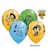 6 Balões Latex Toy Story 4