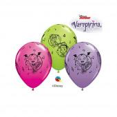 6 Balões Latex Vampirina