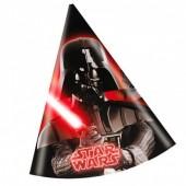 6 Chapéus de festa Star Wars