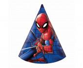 6 Chapéus Festa Spiderman