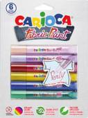 6 Colas Fabric Paint Perly Carioca