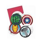 6 Convites festa Mighty Avengers