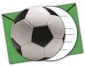 6 Convites festa verde Futebol