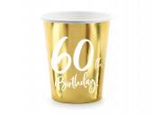 6 Copos Papel 60th Birthday