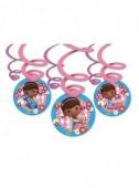 6 Espirais Decorativas Doutora Brinquedos