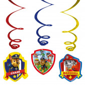 6 Espirais Decorativas Patrulha Pata
