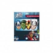 6 Máscaras Avengers/Vingadores