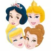 6 Máscaras de festa Princesas Disney