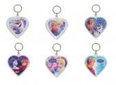 6 porta chaves Frozen Coração