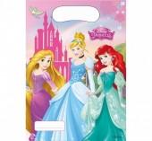 6 sacos brinde festa Princesas