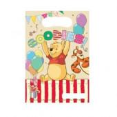 6 Sacos Brinde Winnie the Pooh