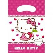 6 Sacos Festa Hello Kitty