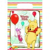 6 Sacos Festa Ursinho Winnie the Pooh